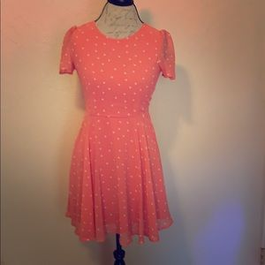 Dresses & Skirts - 5/$25 Pink polka dot dress